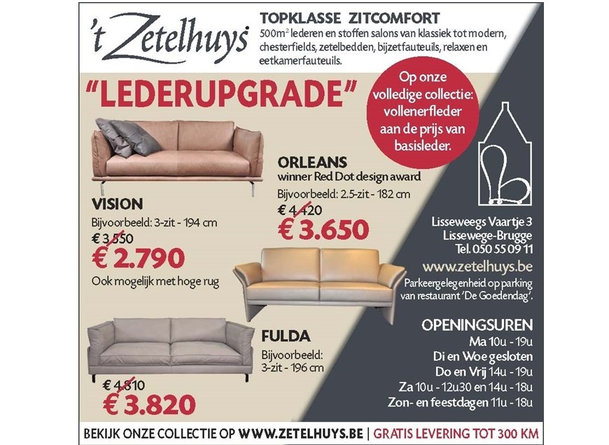 Leder-upgrade