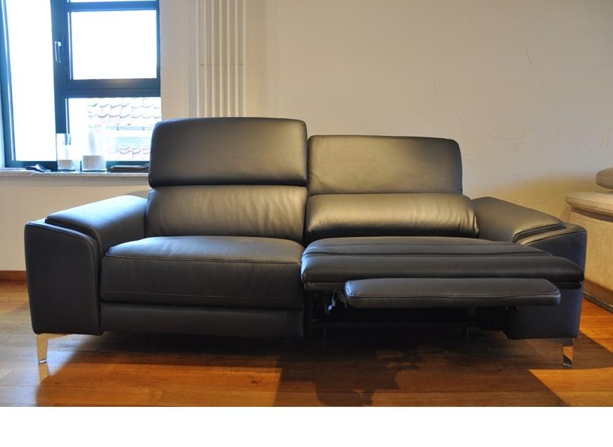 www.zetelhuys.be relaxsalon, elektrische relax, verstelbare hoofdsteun, Bardi, kwaliteit, leder, microvezel, stof, Logan, Vola
