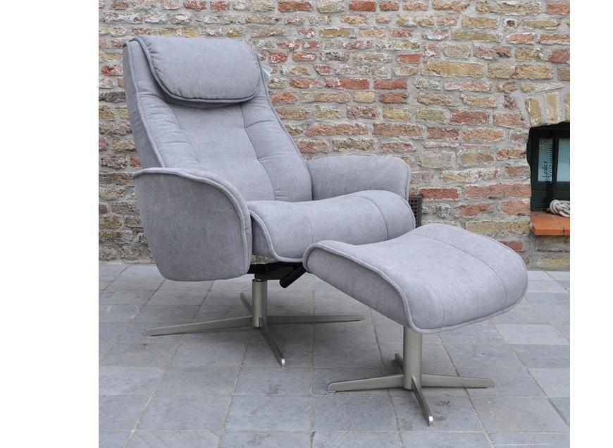 stordal, stockholm, stressless, www.zetelhuys.be, zwart, stof, designrelax met poef