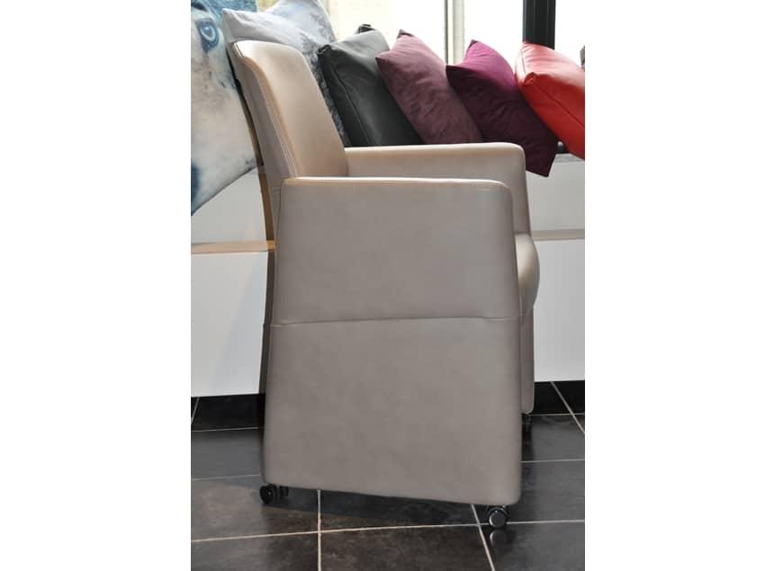 www.zetelhuys.be, Jane, De Toekomst, Gealux, eetkamerfauteuil, eetkamerstoel, bijzetzetel, stoel, fauteuil, leder, Diamond