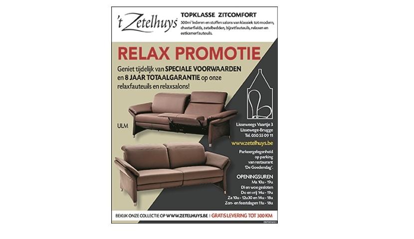 Relaxpromotie april 2021
